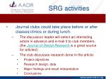 srg activities3