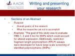 writing and presenting your research3