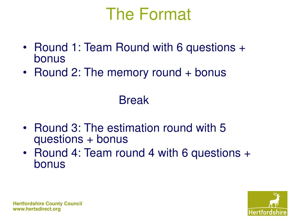 The Format