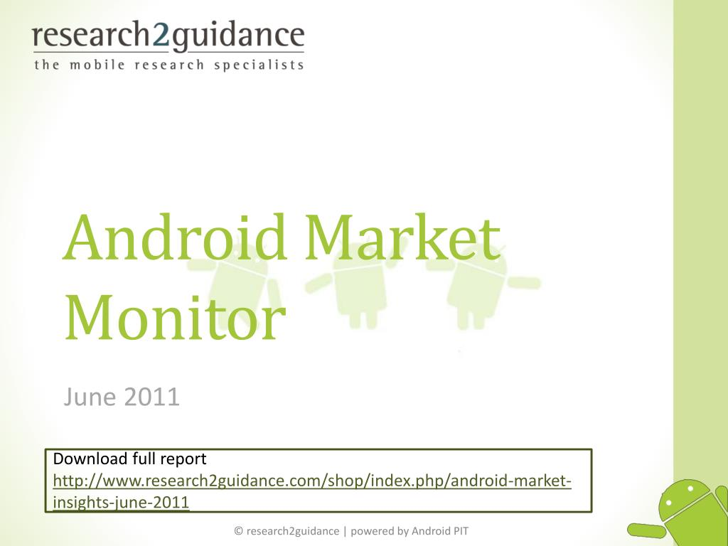 Android Market Monitor