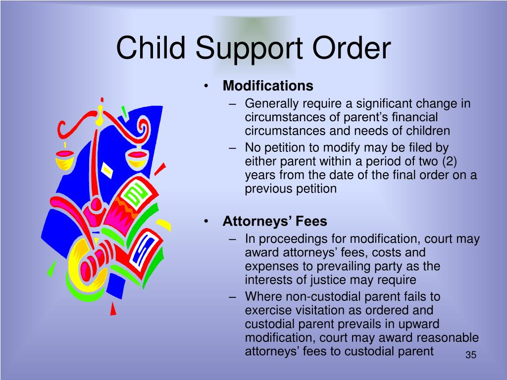 Child Support Order