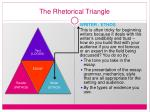 the rhetorical triangle6