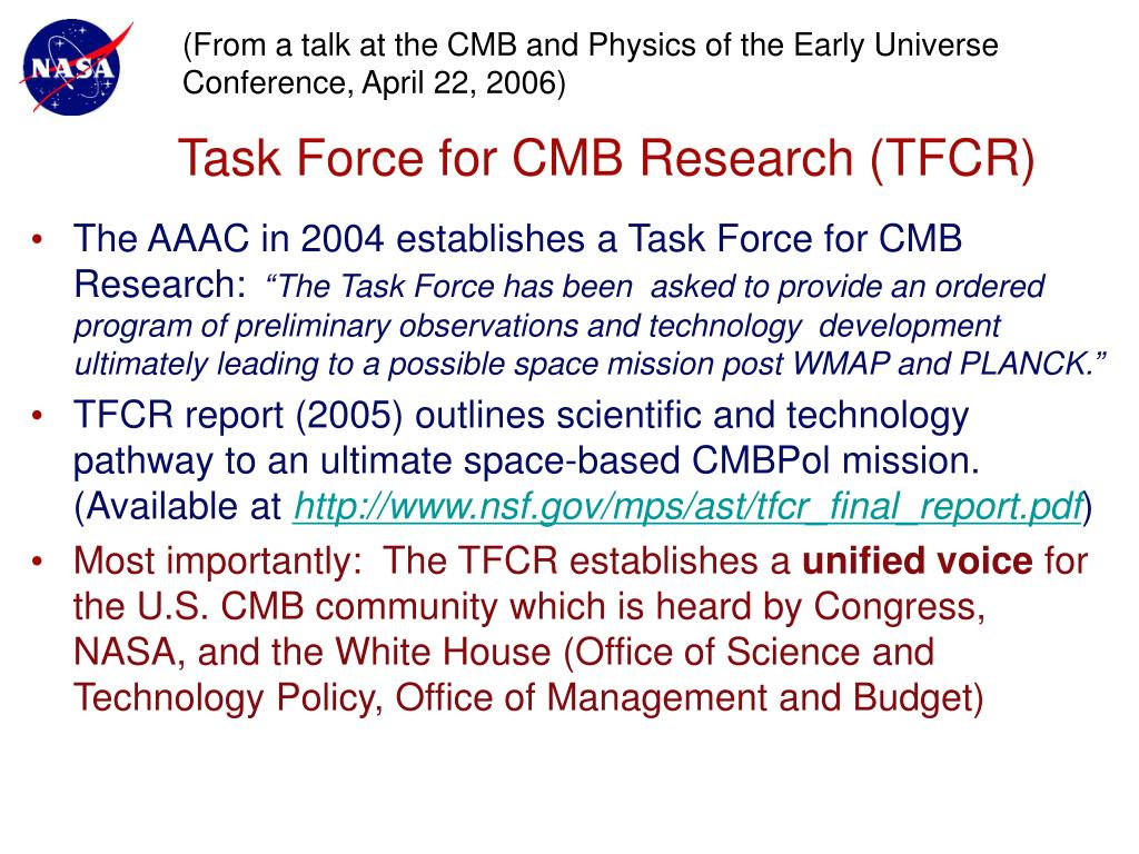 (From a talk at the CMB and Physics of the Early Universe Conference, April 22, 2006)