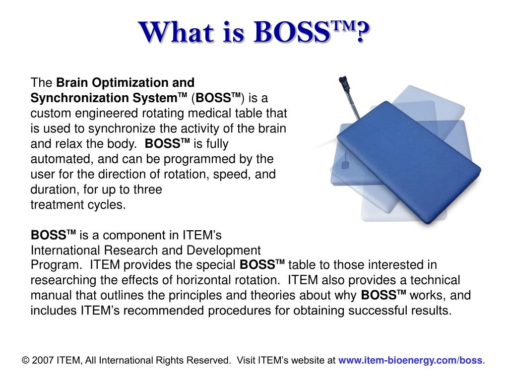 What is BOSS