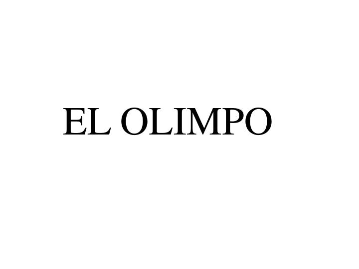 EL OLIMPO