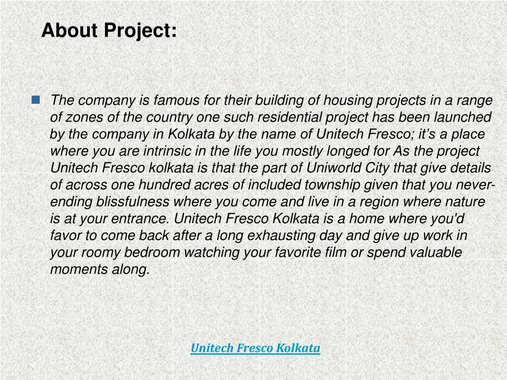 About Project: