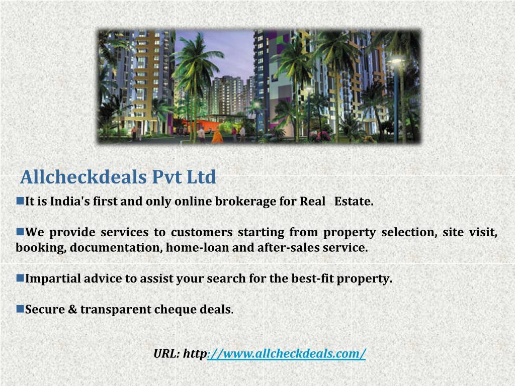 Allcheckdeals Pvt Ltd