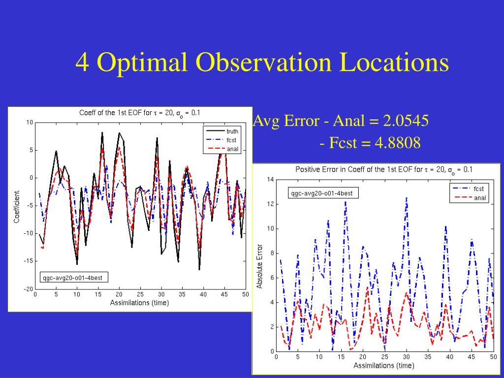 4 Optimal Observation Locations