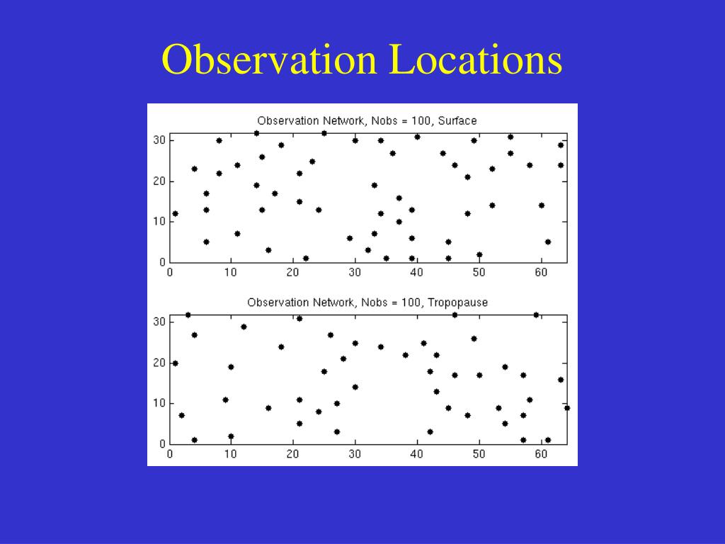 Observation Locations