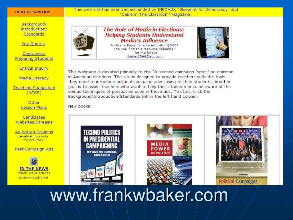 www.frankwbaker.com