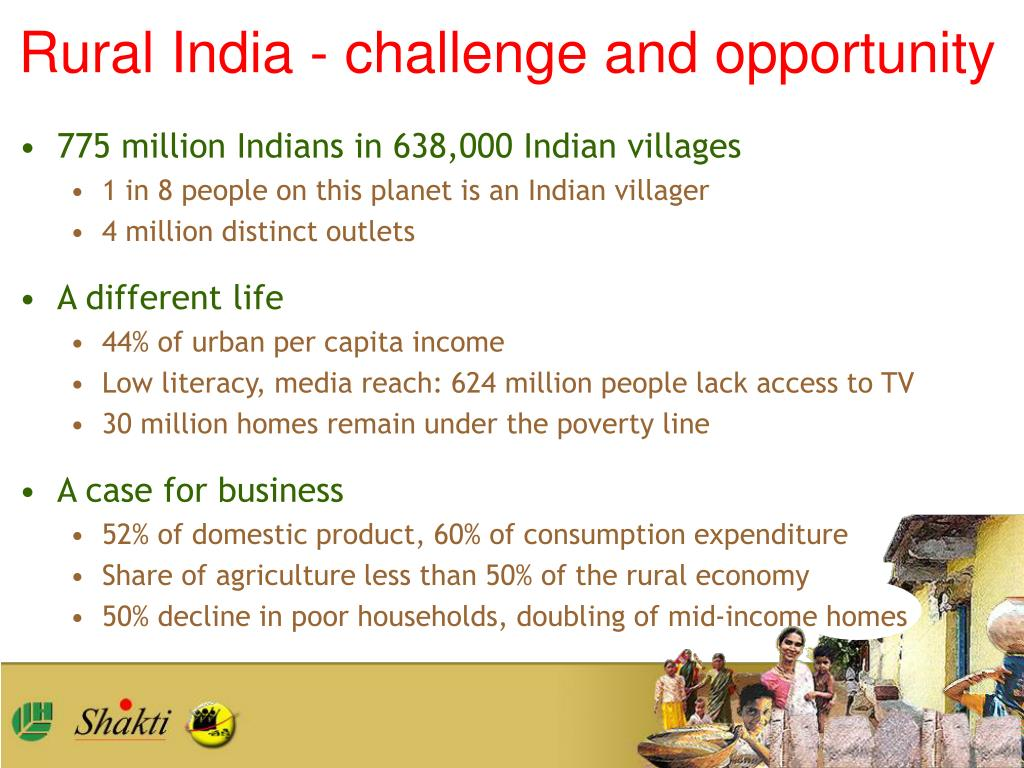 Rural India - challenge and opportunity