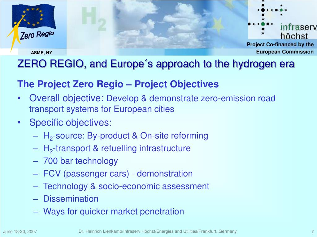 The Project Zero Regio – Project Objectives