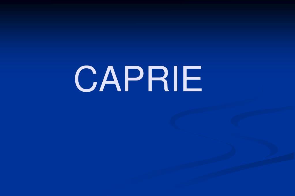 CAPRIE