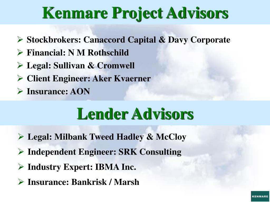 Kenmare Project Advisors