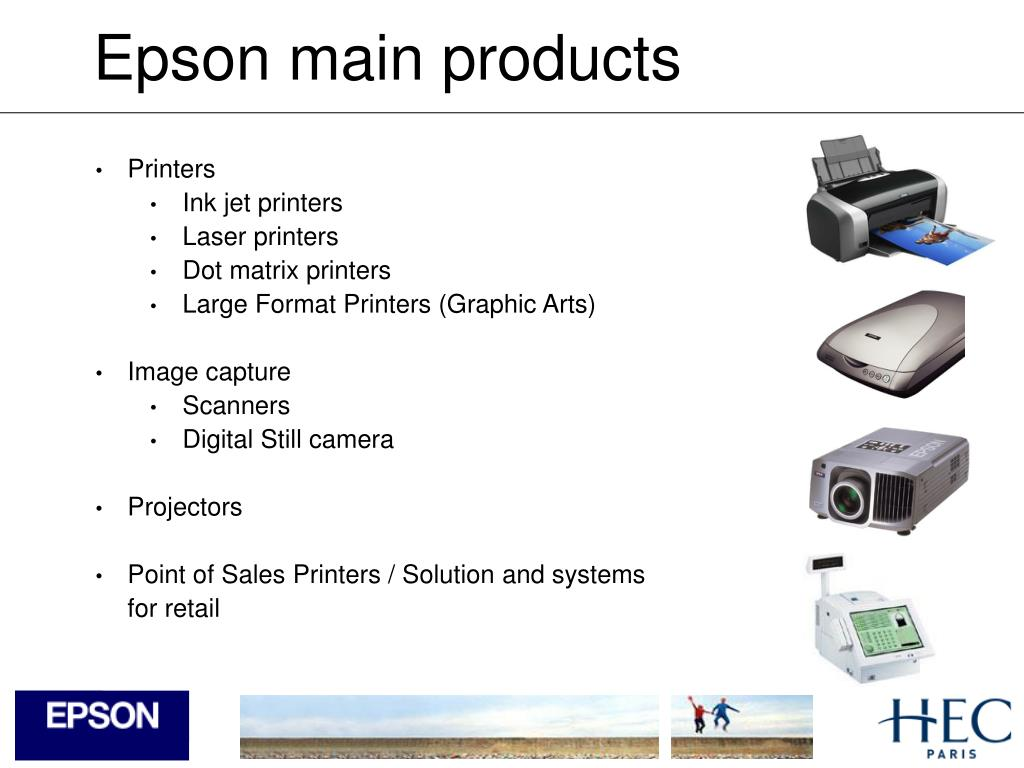 Epson main products