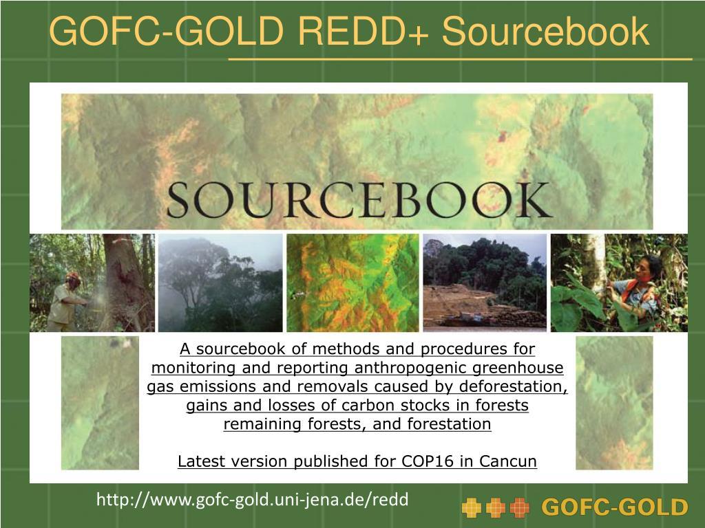 GOFC-GOLD REDD+ Sourcebook