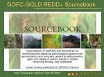 gofc gold redd sourcebook