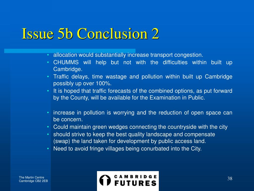 Issue 5b Conclusion 2