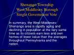 shenango township west middlesex borough single government vote10