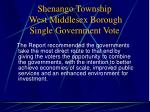 shenango township west middlesex borough single government vote14