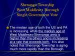 shenango township west middlesex borough single government vote6