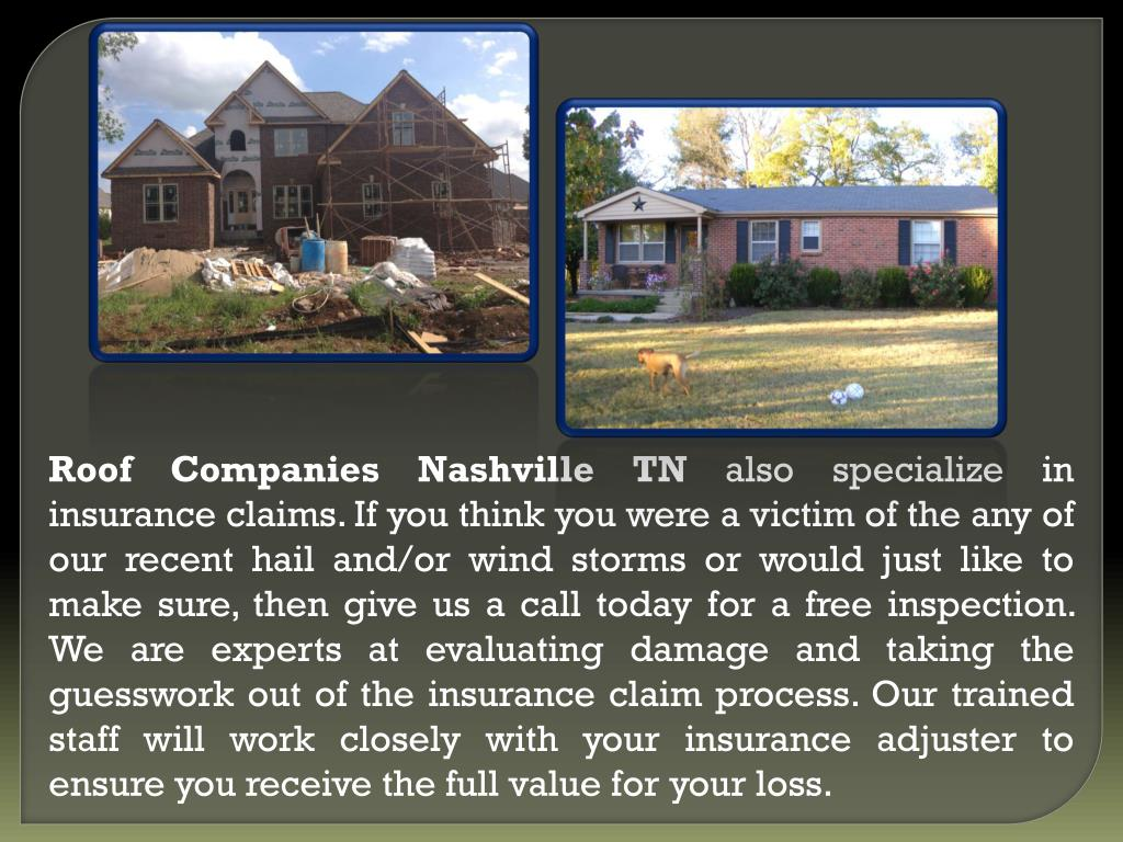 Roof Companies Nashville TN