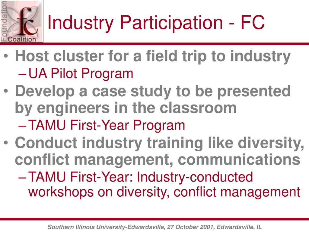 Industry Participation - FC