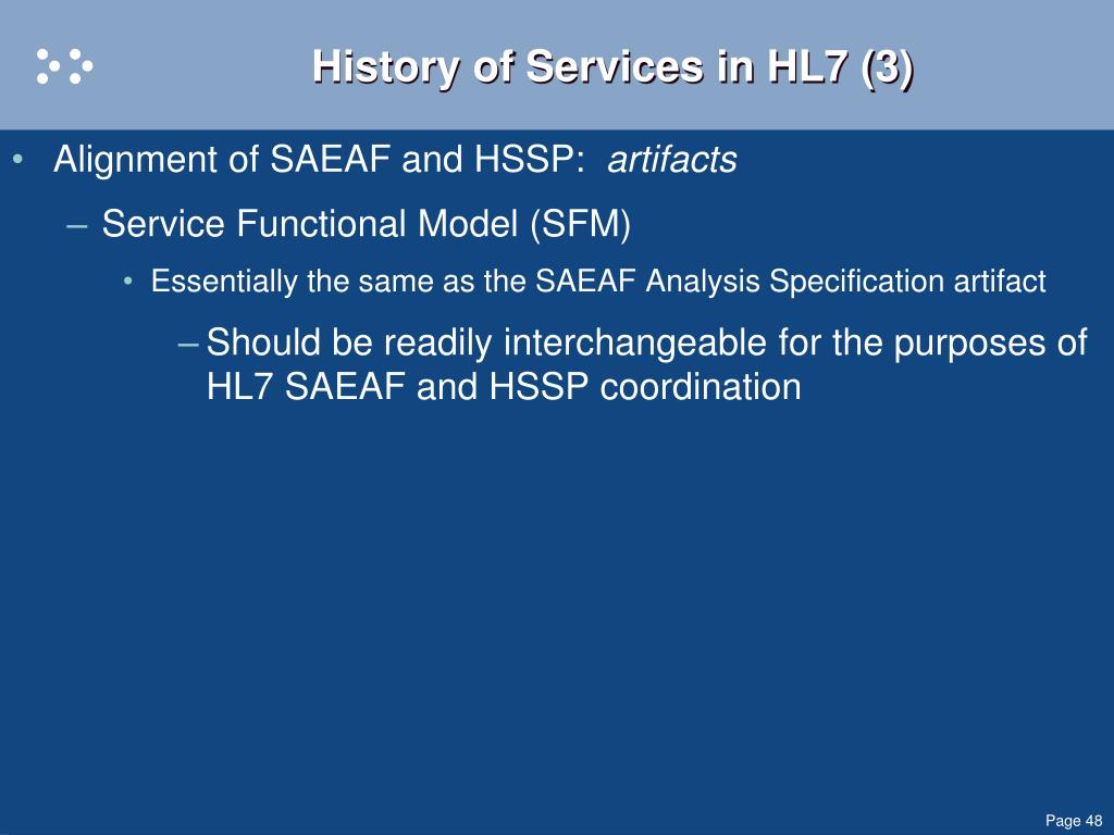 History of Services in HL7 (3)
