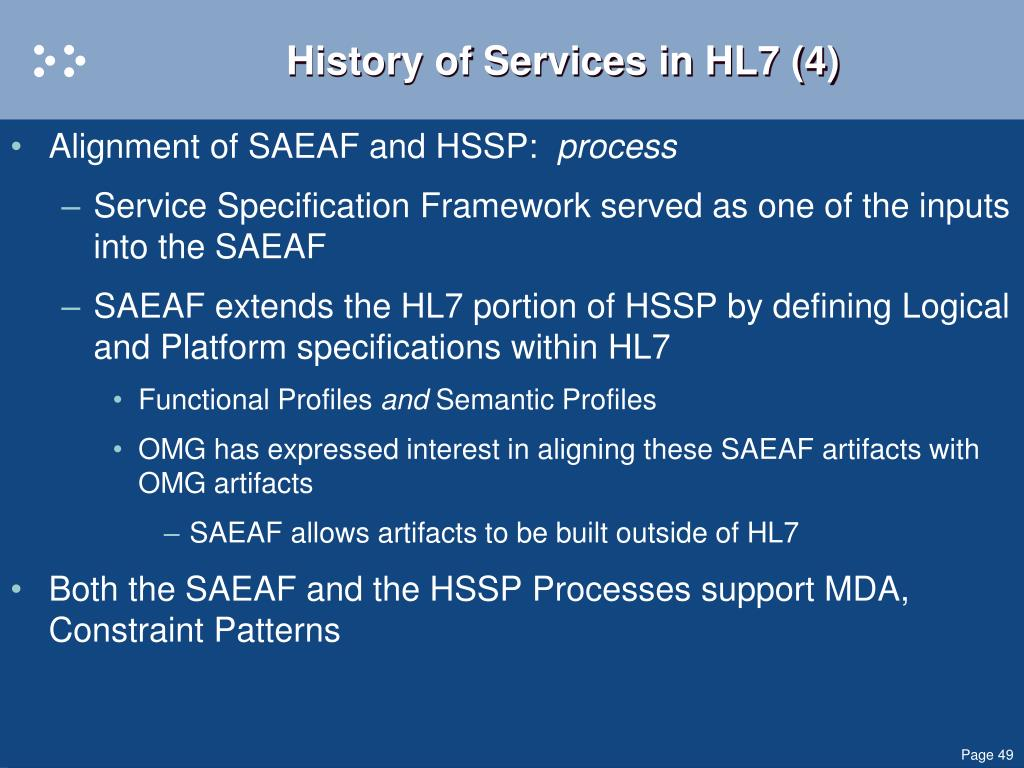 History of Services in HL7 (4)