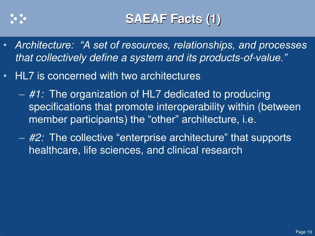 SAEAF Facts (1)