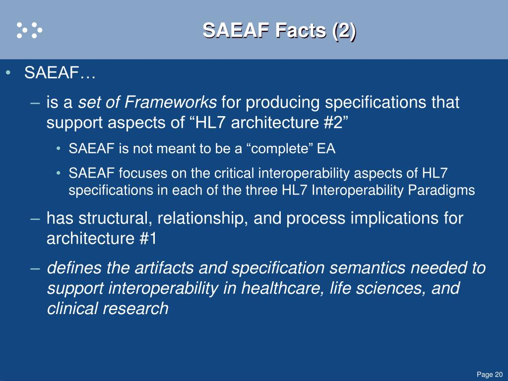 SAEAF Facts (2)