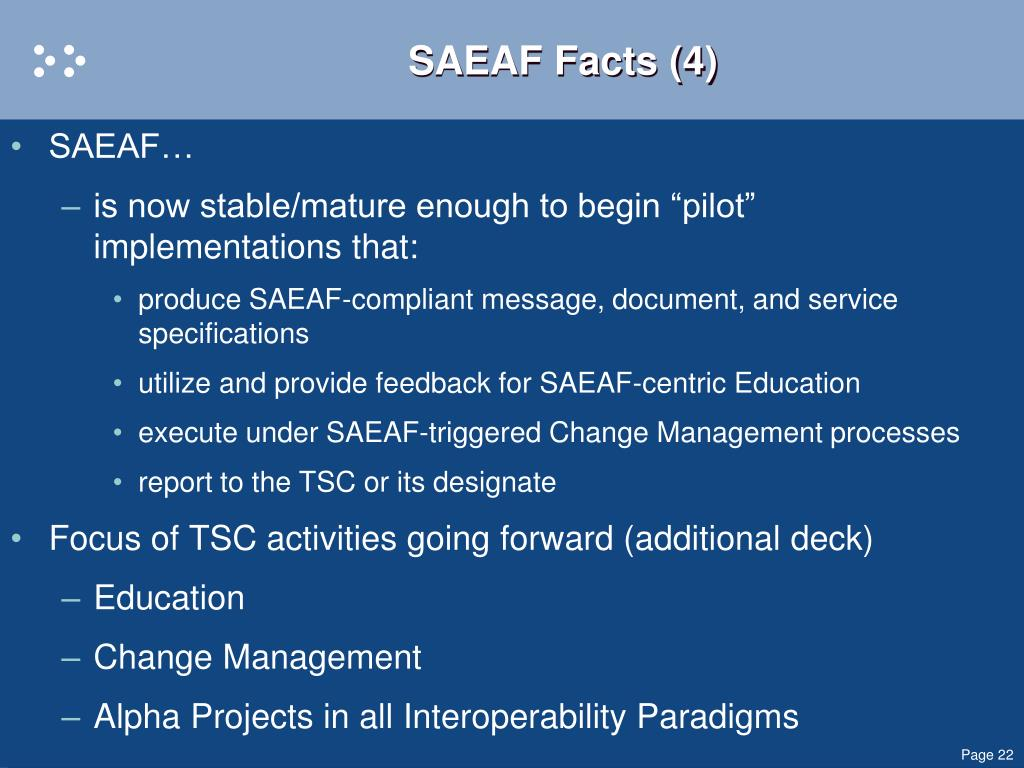 SAEAF Facts (4)