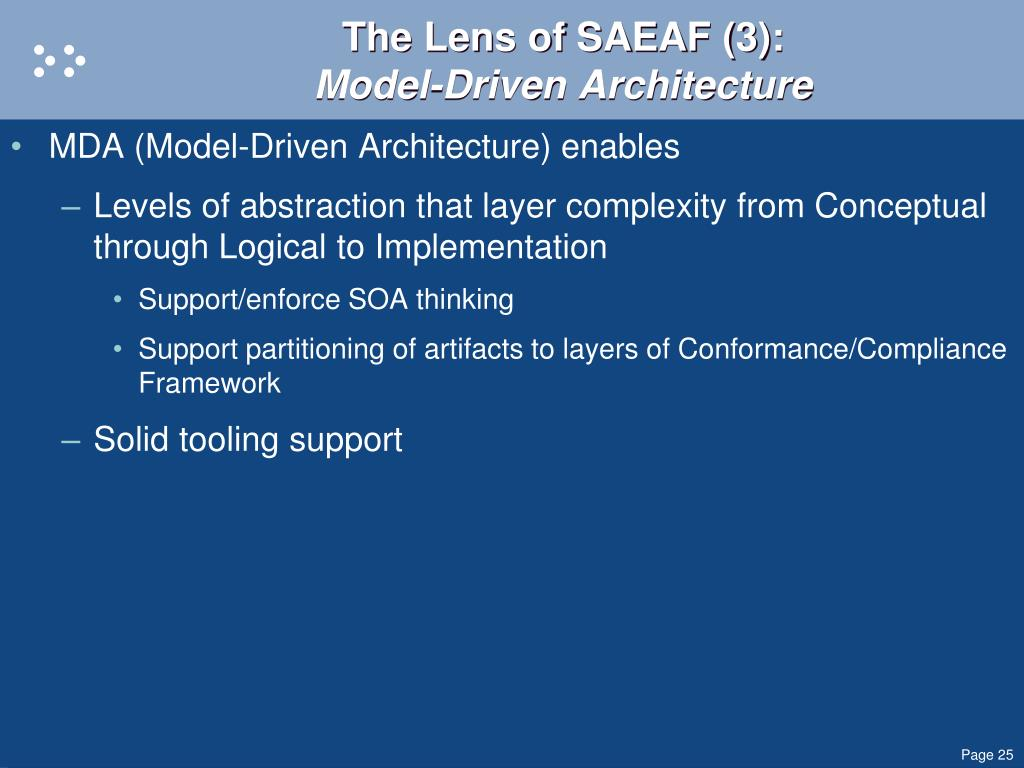 The Lens of SAEAF (3):
