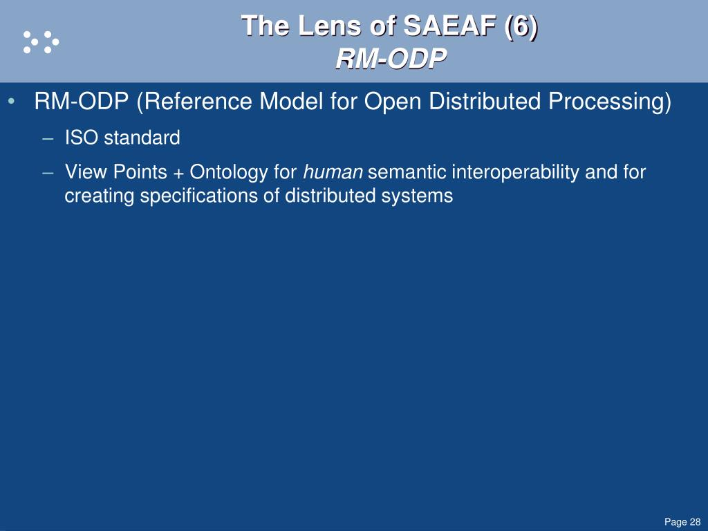 The Lens of SAEAF (6)
