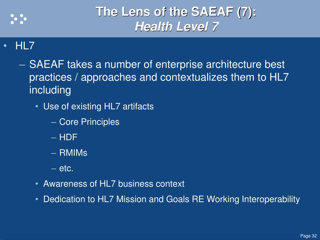 The Lens of the SAEAF (7):