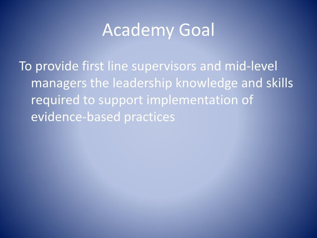 Academy Goal