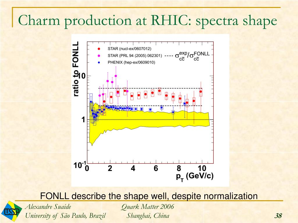 Charm production at RHIC: spectra shape
