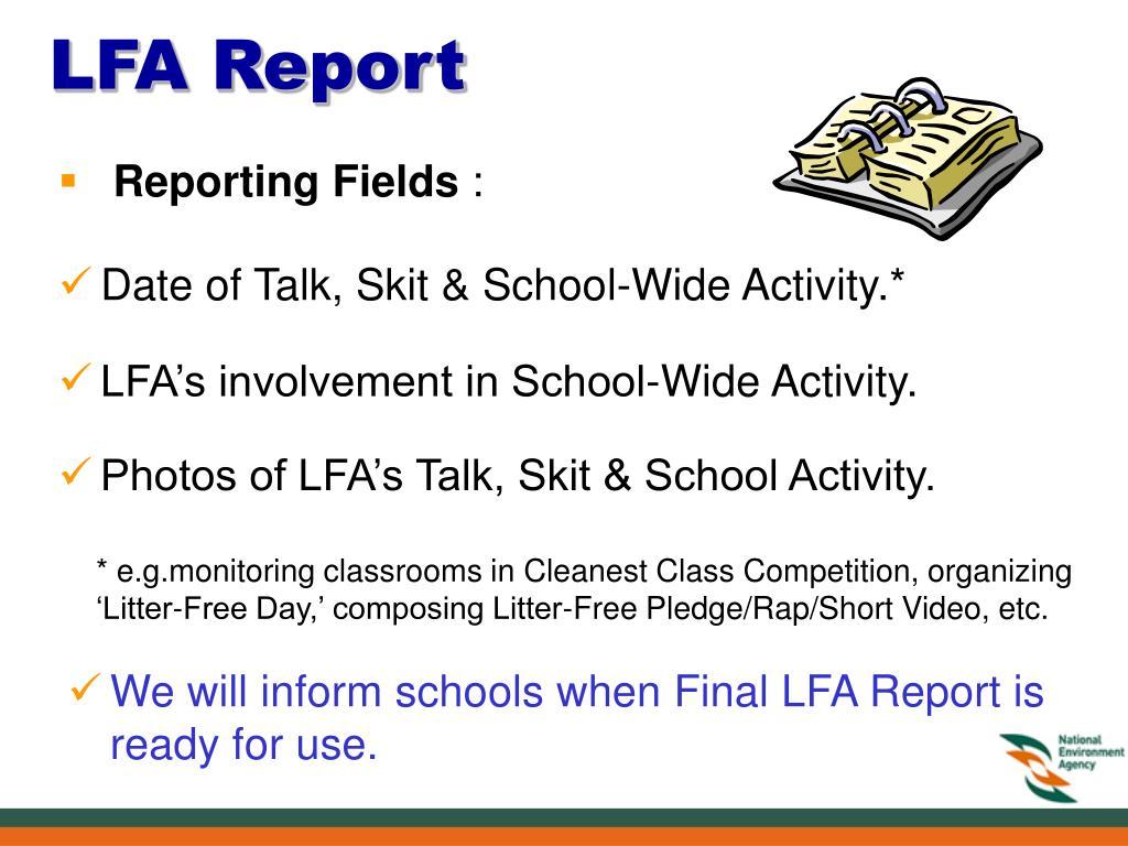 LFA Report