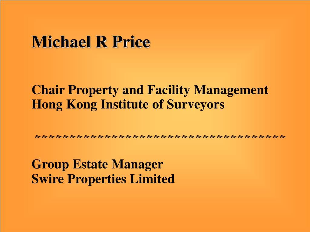 Michael R Price