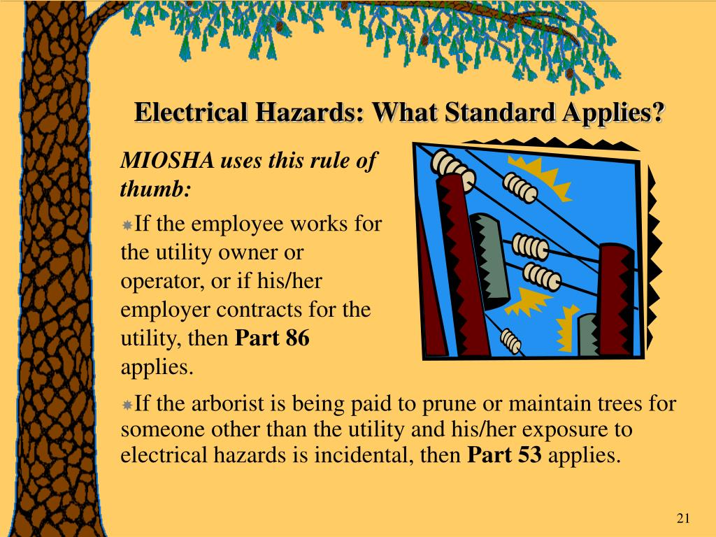 Electrical Hazards: What Standard Applies?