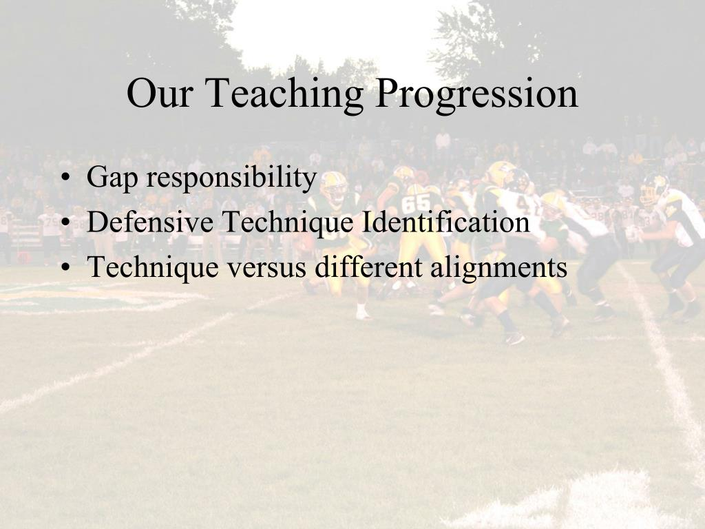 Our Teaching Progression