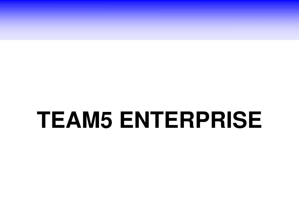 TEAM5 ENTERPRISE
