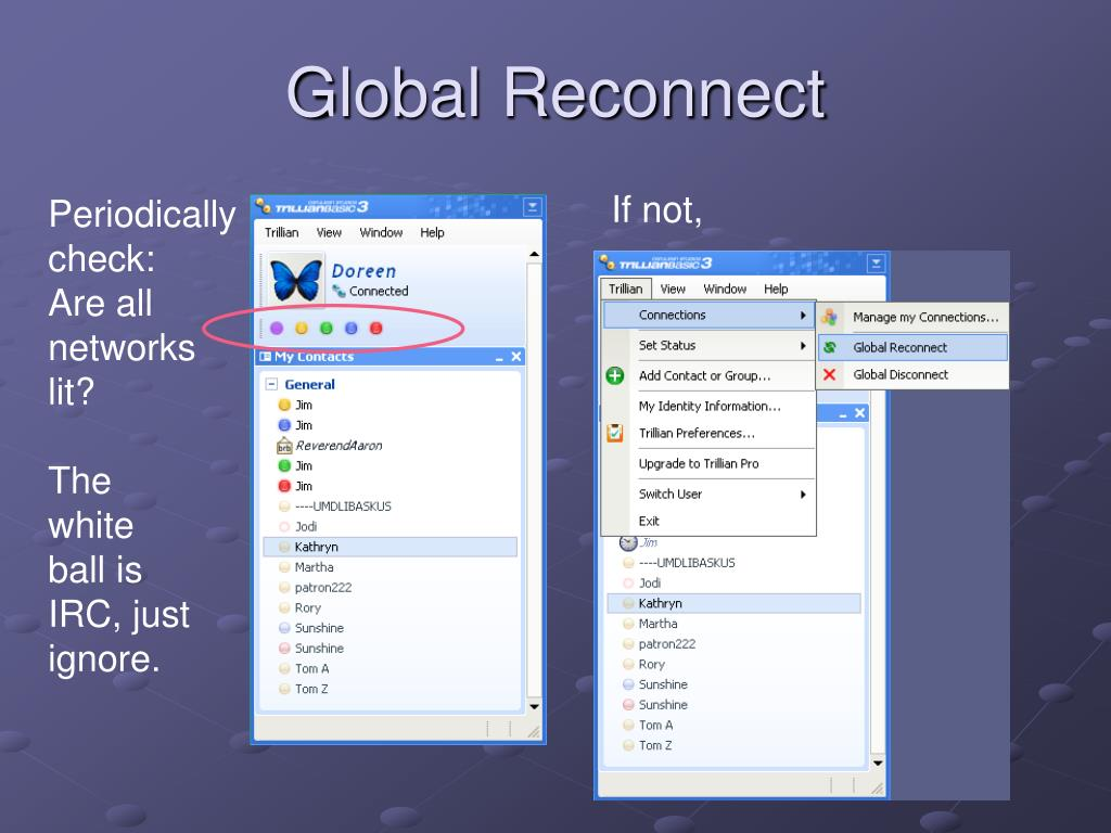 Global Reconnect