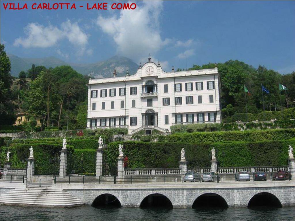 VILLA CARLOTTA – LAKE COMO