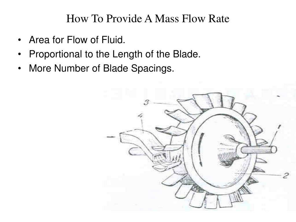 How To Provide A Mass Flow Rate