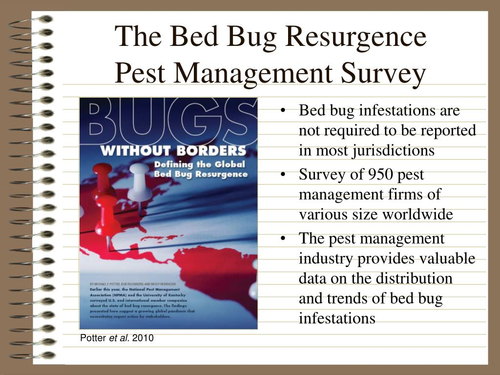 The Bed Bug Resurgence