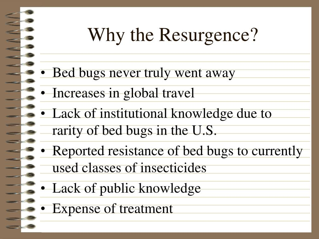 Why the Resurgence?