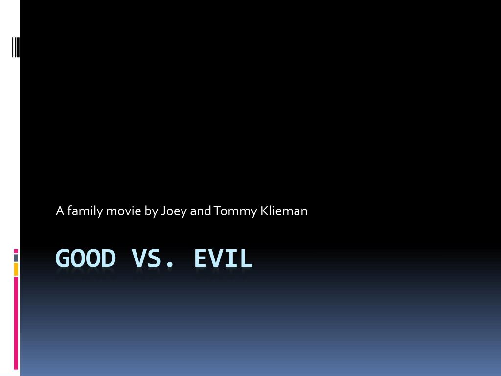 A family movie by Joey and Tommy Klieman