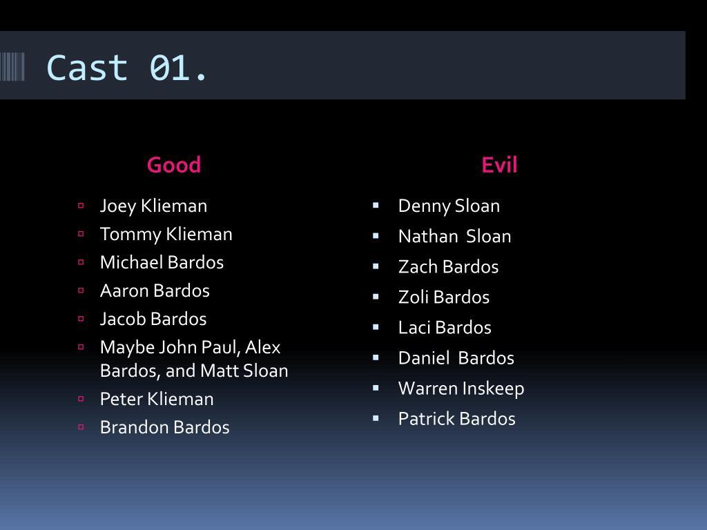 Cast 01.