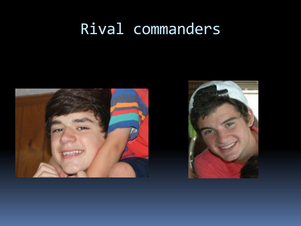 Rival commanders